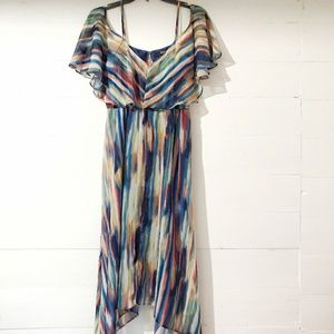 a.n.a Dresses - Small Fitted Off the shoulders w straps Midi Dress